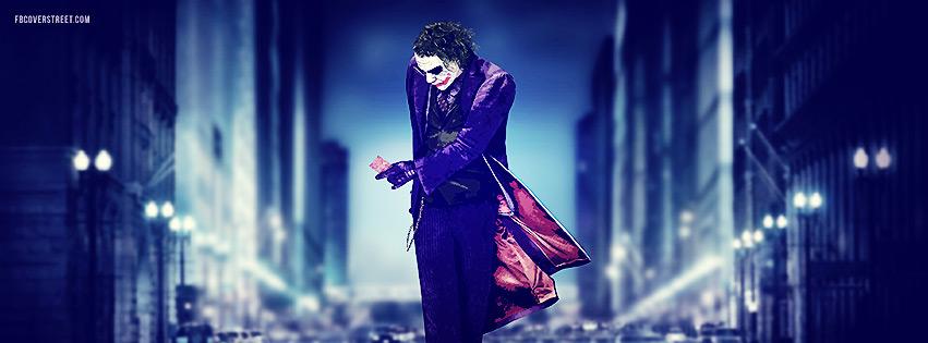 The Joker Artwork Facebook Cover