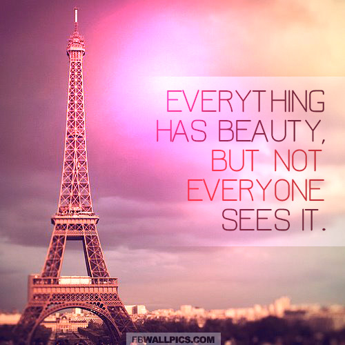 Everything Has Beauty Confucius Wisdom Quote  Facebook picture