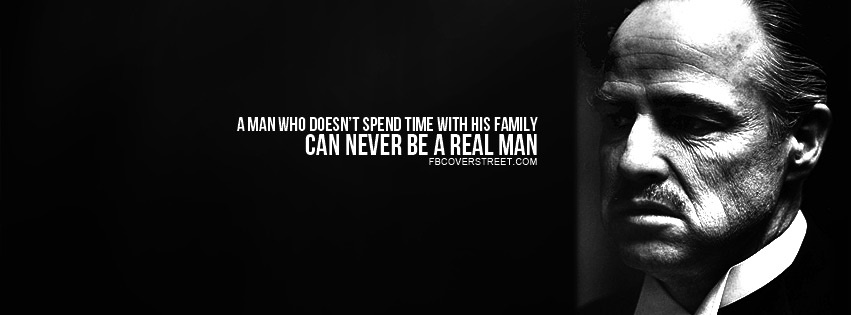 The Godfather Family Quote Facebook Cover