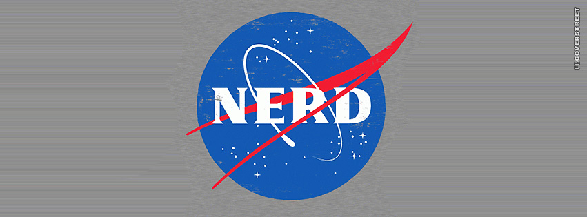NASA NERD Logo  Facebook cover