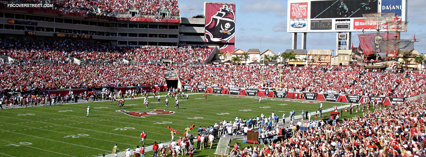 Raymond James Stadium Tampa Bay Bucaneers 2  Facebook cover