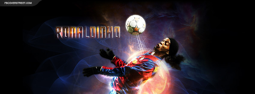 Ronaldinho Facebook cover