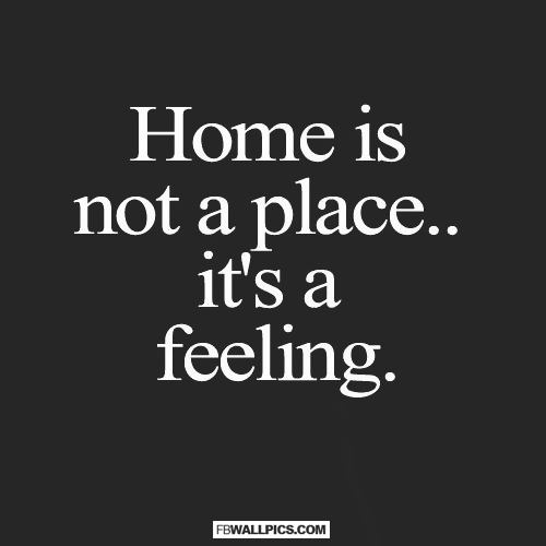 Home Is Not A Place  Facebook picture