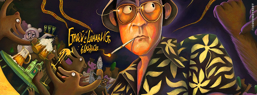 Fear and Loathing In Las Vegas Artwork Facebook cover