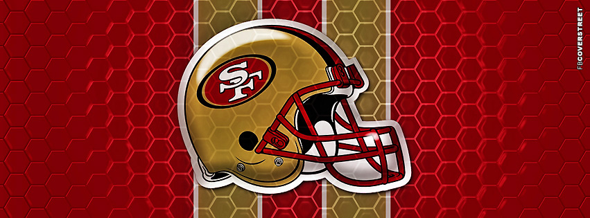 San Francisco 49ers Helmet Facebook Cover