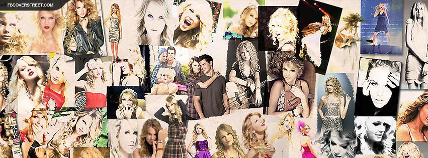 taylor swift collage facebook cover fbcoverstreet com
