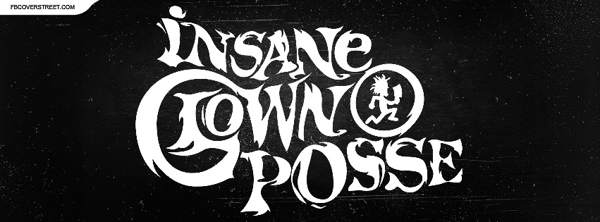 Insane Clown Posse Grungey Logo 2 Facebook Cover