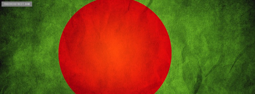 Bangladesh Flag Facebook Cover