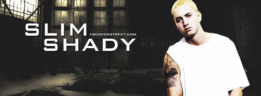 Slim Shady 1 Facebook cover