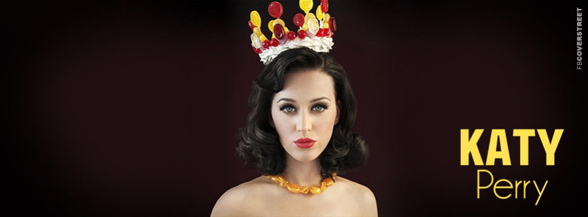 Katy Perry Simple Facebook Cover