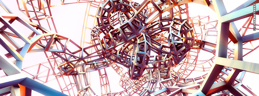 Abstract Steel Ladder  Facebook cover