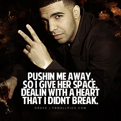 Drake Take Care Lyrics Facebook picture