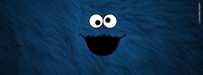 Cookie Monster Fur Facebook cover
