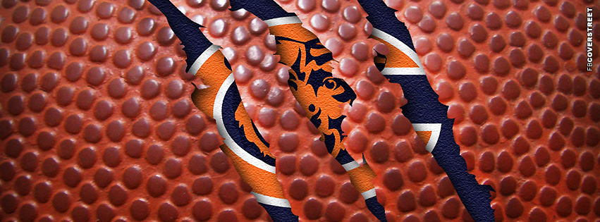 Chicago Bears Pigskin Logo Facebook cover