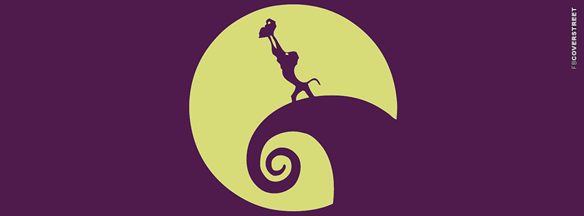 Simba Nightmare Before Christmas  Facebook cover