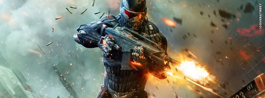 Crysis 2 Shooter Facebook Cover