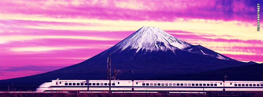 Shinkansen Bullet Train  Facebook Cover