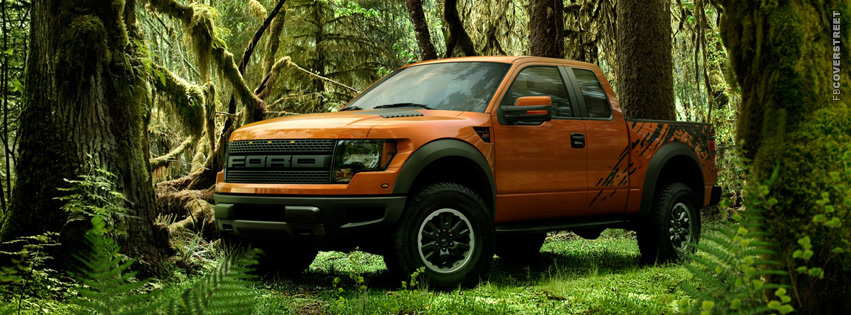 Ford Raptor Jungle  Facebook cover