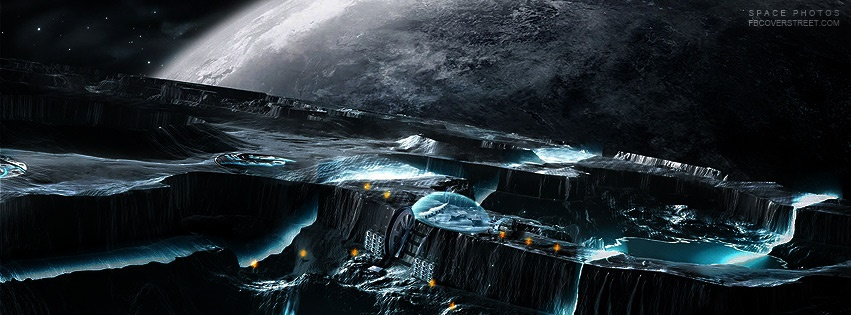 Space Alien Game Facebook Cover