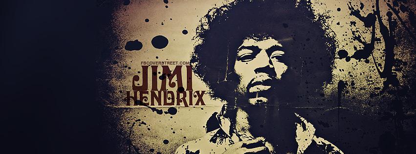 Jimi Hendrix 2 Facebook Cover
