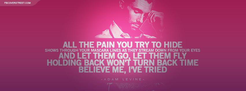 adam levine beautiful goodbye lyrics facebook cover