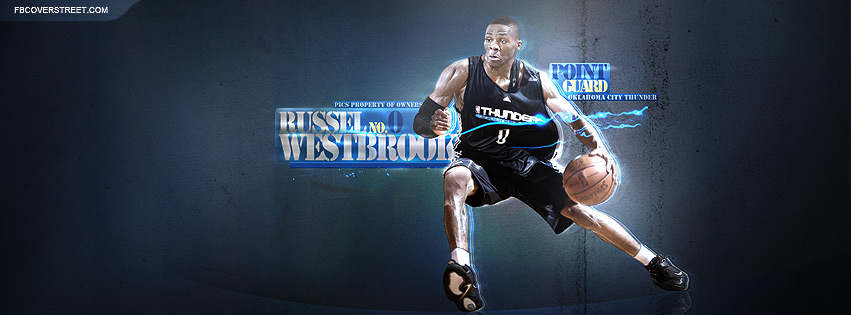 Russell Westbrook 4 Facebook cover