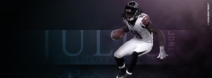 Atlanta Falcons Julio Jones  Facebook Cover