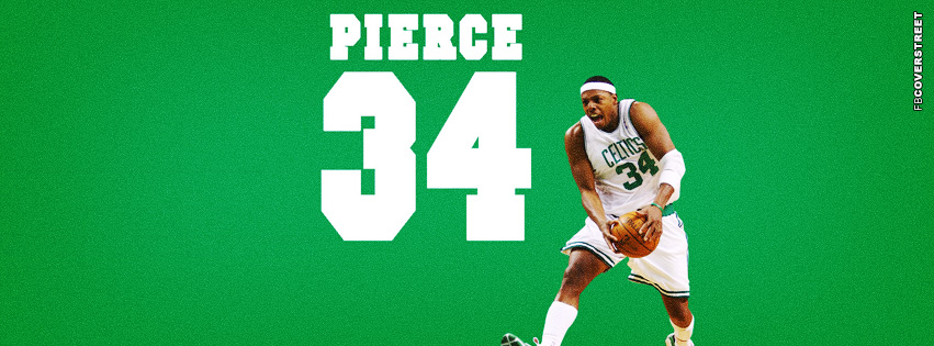 Boston Celtics Paul Pierce  Facebook cover