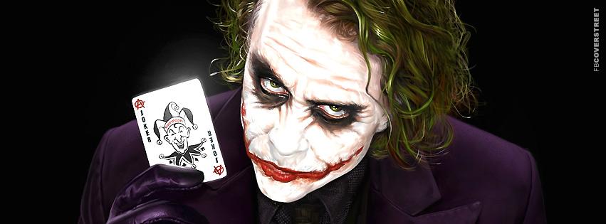 The Joker Anarchist Card  Facebook Cover