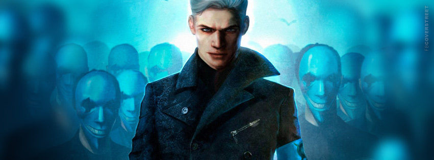 Devil May Cry Vergil Facebook Cover