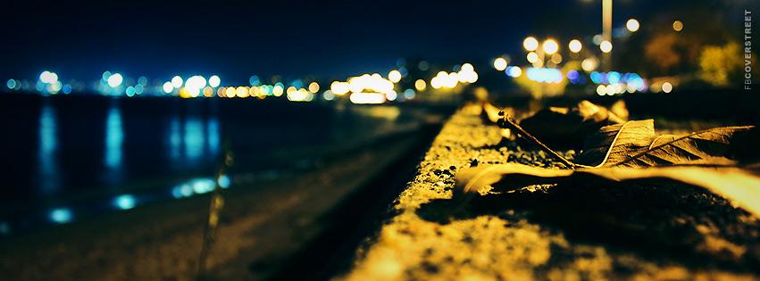 Autumn Beach  Facebook cover