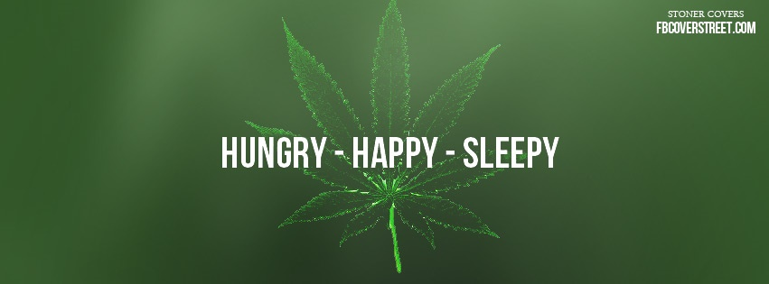 Hungry Happy Sleepy Facebook Cover