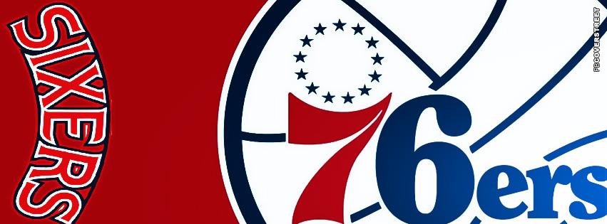 Philadelphia 76ers Logo FB Cover  Facebook cover