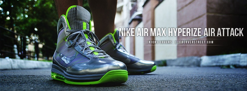 Nike Air Max Hyperize Air Attack Facebook Cover