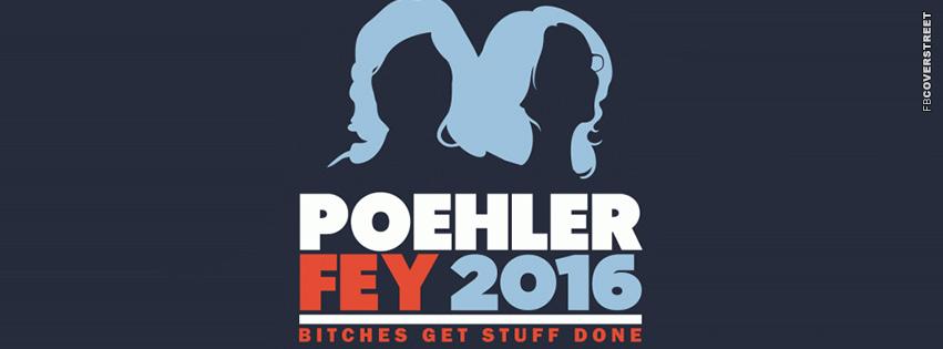 Amy Poehler Tina Fey 2016  Facebook cover