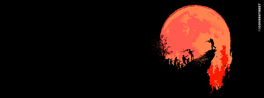 Zombie Killing Full Moon  Facebook cover