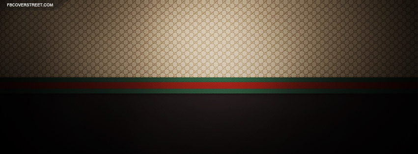 Smooth Gucci Pattern Facebook Cover
