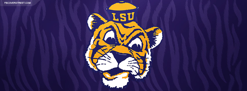 Louisiana State University Tigers Logo 2 Facebook Cover ... 0b1f3197c