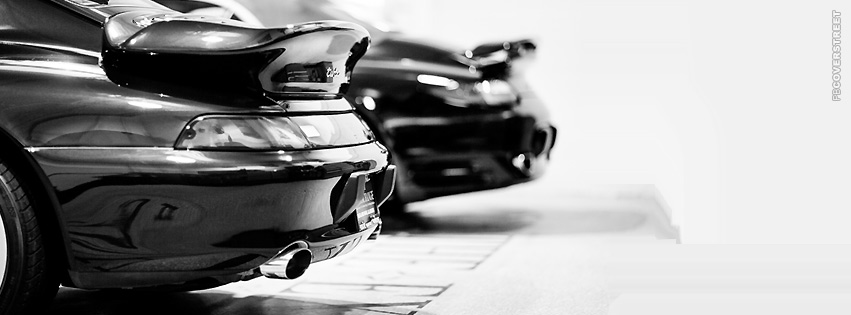 993 Porche Turbo and 996 Porsche Turbo  Facebook Cover