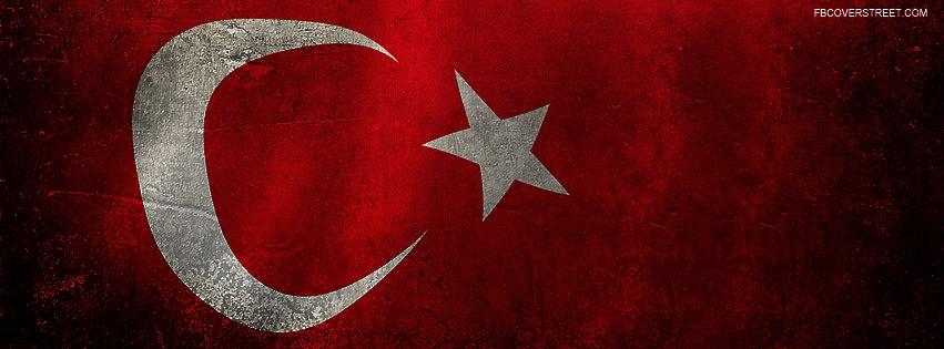 Turkey Flag Facebook Cover