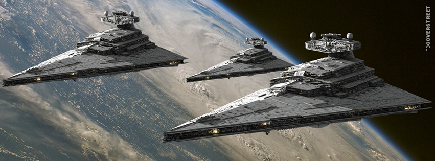 Star Wars Star Ships Movie Facebook Cover