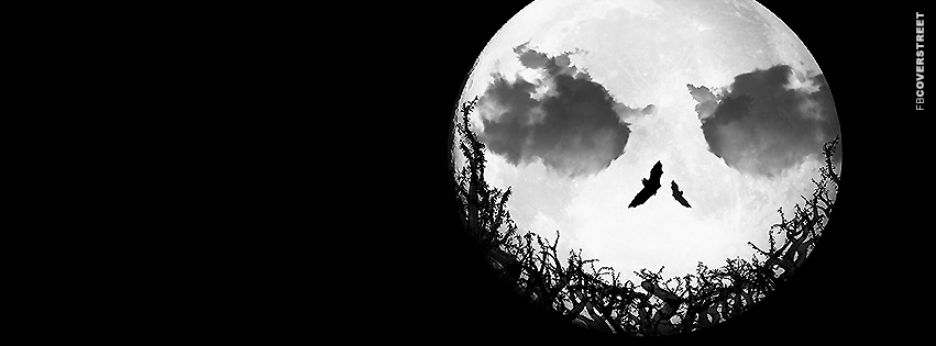Jack Skellington Moon  Facebook Cover