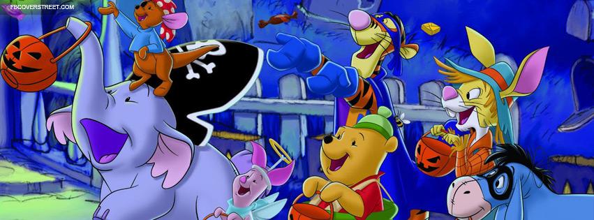 Winnie The Pooh Heffalump Halloween Facebook Cover Fbcoverstreetcom