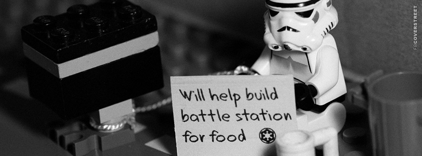 Homeless Stormtrooper Facebook Cover