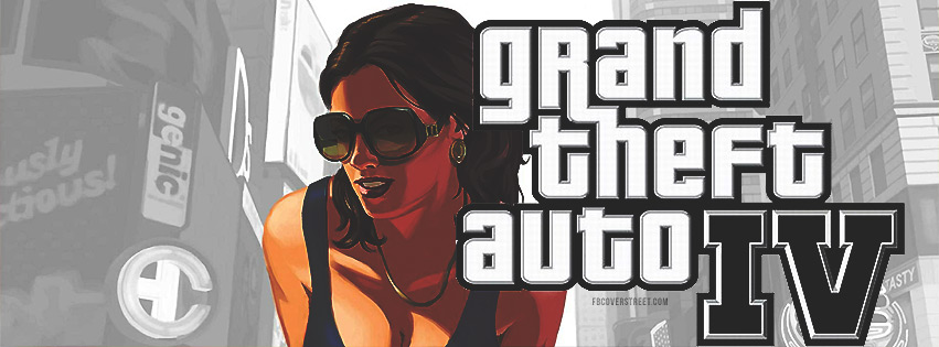 Grand Theft Auto IV Facebook Cover
