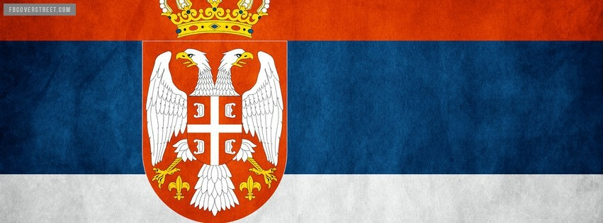 Serbia Flag Facebook cover
