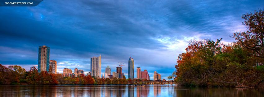 Austin Texas Autumn View  Facebook Cover
