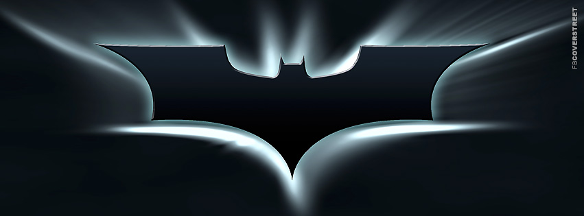 Batman Bat Symbol Blue  Facebook Cover