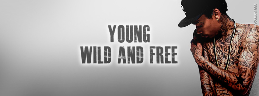 Young Wild and Free Wiz Khalifa  Facebook Cover