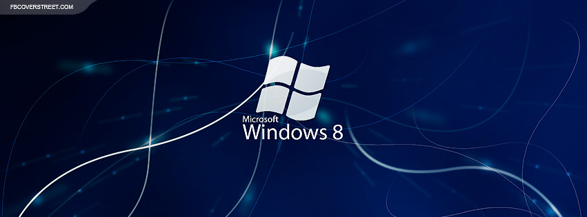 Windows 8 Abstract Logo  Facebook cover